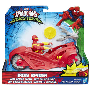 Ultimate Spider-Man vs. The Sinister Six: Iron Spider with Armor Racer