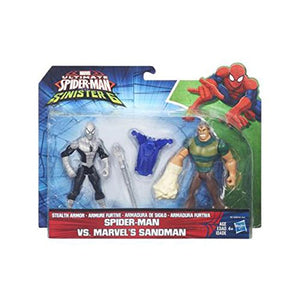 ULTIMATE SPIDER-MAN VS. THE SINISTER 6: SPIDER-MAN VS. MARVEL'S SANDMAN B6139-B5761