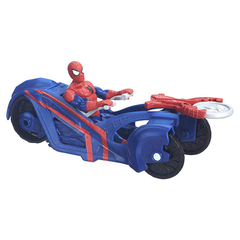 Spider-Man Ultimate vs. The Sinister Six with Street Racer