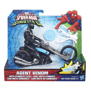 Ultimate Spider-Man vs. The Sinister Six Agent Venom with Symbiote Cycle