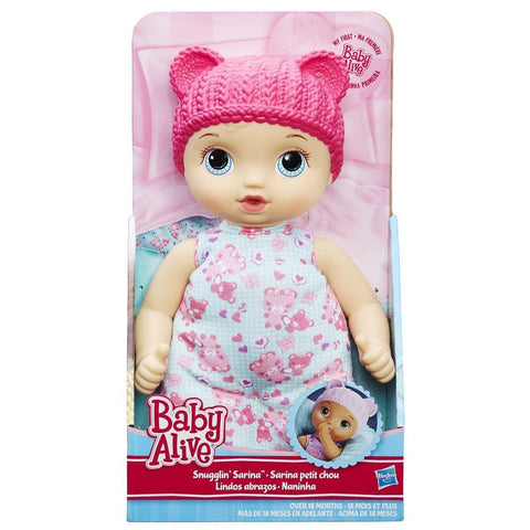 Baby Alive Snugglin' Sarina Blonde