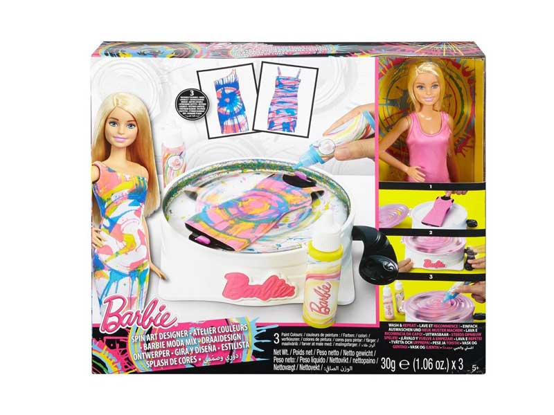 Barbie Spin Art Designer with Doll DMC10