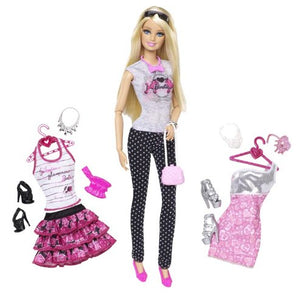 Barbie Doll and Fashion Gift Set BFW20