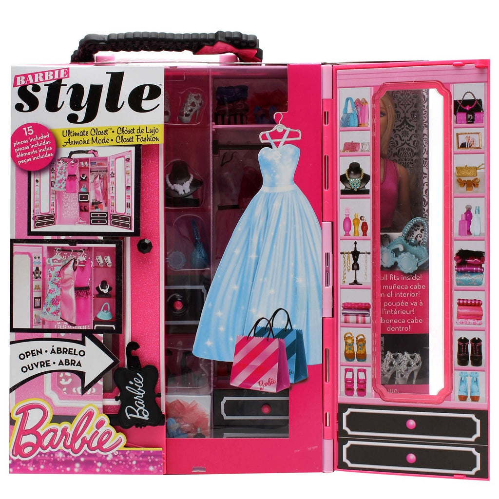 Barbie Style Ultimate Closet with 1 Doll