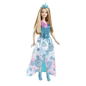 Barbie Doll Fairy Tale Princess Blue CFF24-CFF26