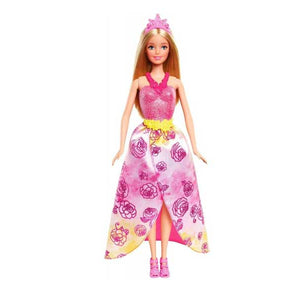 Barbie Fairytale Princess Pink Doll CFF24-CFF25