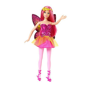 Barbie Doll Fairy Pink CFF32-CFF33