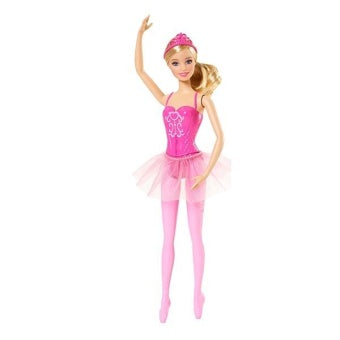 Barbie Princess Ballerina Barbie  PINK CFF42-CFF43