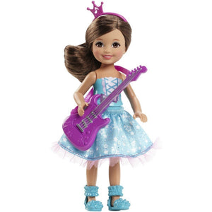 Barbie in Rock 'N Royals Purple Pop Star Chelsea Doll CKB68-CKB70