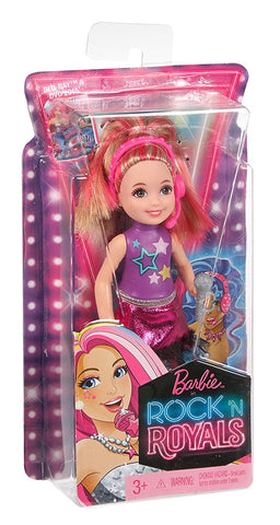 Barbie in Rock 'N Royals Blue Princess Chelsea Doll CKB68-CKB71