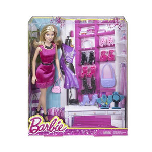 Barbie Doll and Accessories , Multi Color CML91-CML92