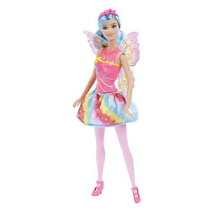 Barbie Doll Fairy Rainbow Fashion ,  DHM50-DHM56