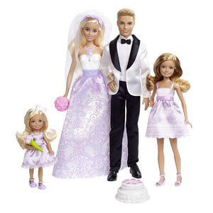 Barbie Wedding Gift Set, Multi Color DJR88