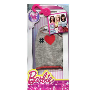 Barbie Doll Dress Fashion Heather Heart Tank Top CFX73-DMB36