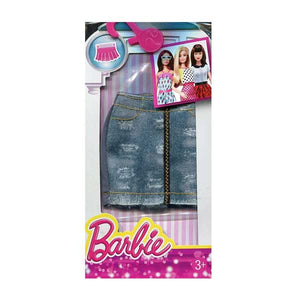 Barbie Doll Dress Fashion Denim Skirt Zip Front SCFX73-DMB39