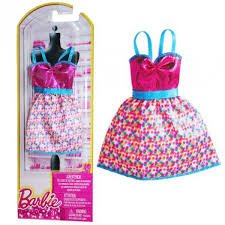 Barbie Doll Dress N4875-BCN47