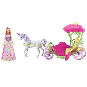 Barbie Doll Dreamtopia Sweetville Carriage DYX31