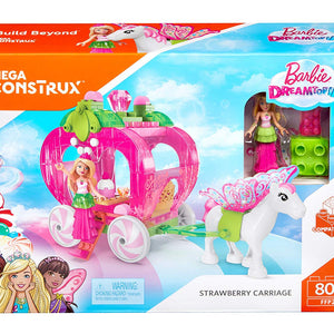 Mega Construx Barbie Dreamtopia Strawberry Carriage FFP26