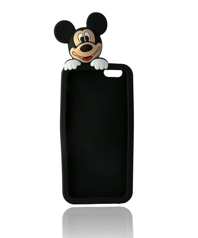 Barrier Mickey 3D Grip Back Cover for iPhone 6 ( Multicolor )