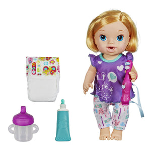 Baby Alive Hasbro Brushy Baby Doll - Blonde, Multi Color 7121100