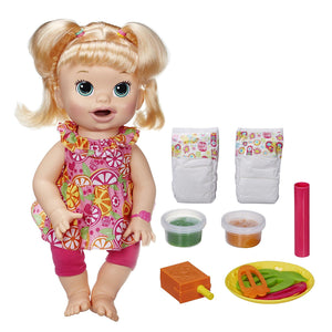 Baby Alive Super Snacks Snackin' Sara Blond 7155600