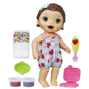 Baby Alive Super Snacks Snackin Lily Blonde 71694