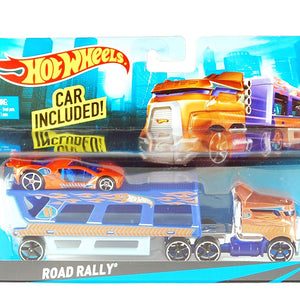 Hot Wheels City Road Rally Toy Car Set BDW51-BDW58