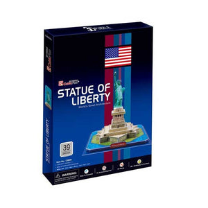 CubicFun Statue of Liberty New York USA 3D Puzzle C080H