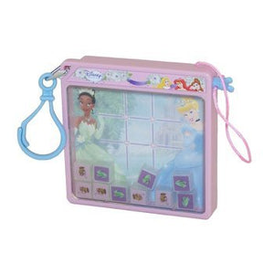 Disney Magnetic Pocket Game - PRINCESS (Tic-Tac-Toe) [Toy] LIGHT PINK 9-002174