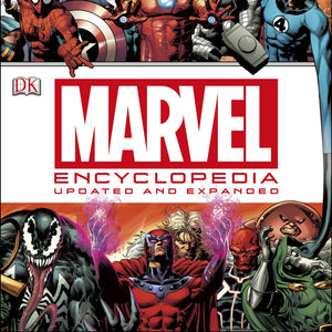 Marvel Characters Encyclopedia ( Updated & Expanded ) Hardcover DK