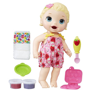 Baby Alive Super Snacks Snackin Lily Blonde 7169400