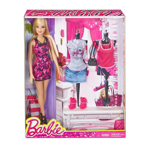 Barbie Doll With Fashion Accessories