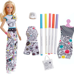 Barbie Doll Color-in Fashion FPH90
