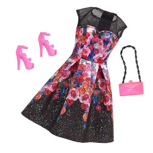 Barbie Doll Dress Complete Look Fashion 2 , CFX92-CFX94  ( Dress for Barbie Dolls )