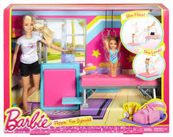 Barbie Flipping Fun Gymnast, Multi Color,DMC37