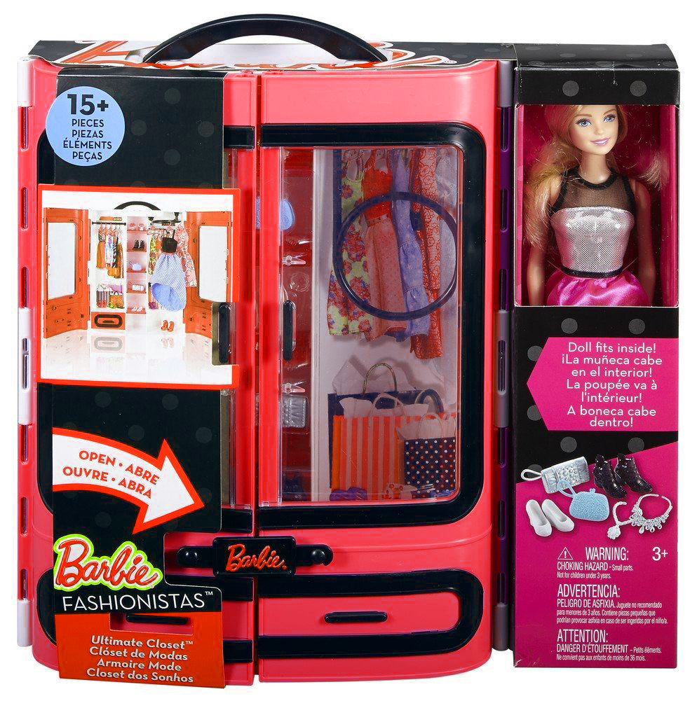 Barbie Fashionistas Ultimate Closet Doll DPP72-DMT58 ( Red )