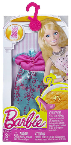 Barbie Fashions Dress, Bright Boho CFX65-CFX67