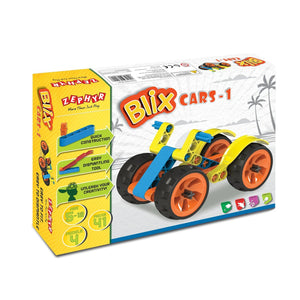 Zephyr Blix Cars-1 Construction Kit 06001
