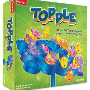 Funskool Topple, Multi Color,281017