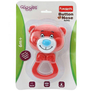Funskool-Giggles Button Nose Rattle 9919200