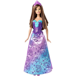 Barbie Doll Fairy Tale Princess Purple CFF24-CFF27