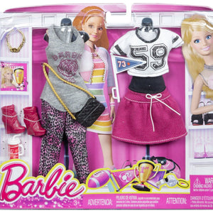 Barbie Doll Dress Combo Fashion Look 2 Pack