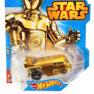 Hot Wheels Star Wars Character Car C-3PO