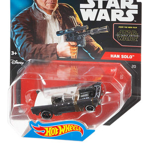 Mattel Hot wheels Star Wars Character Car Han Solo