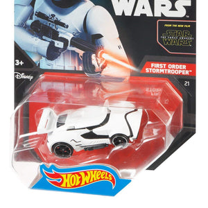Mattel Hot wheels Star Wars Character Car - First Order Stormtrooper
