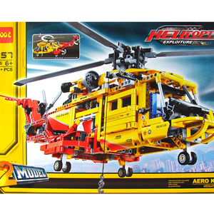 DECOOL Exploiture Rescue Helicopter 3357