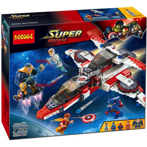 DECOOL 7120 Super Heroes Avenjet Space Mission