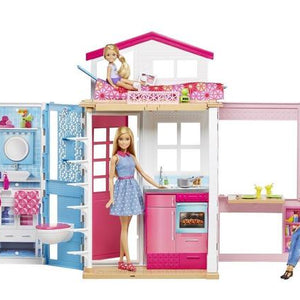 Barbie Doll 2 Story Dollhouse DVV48
