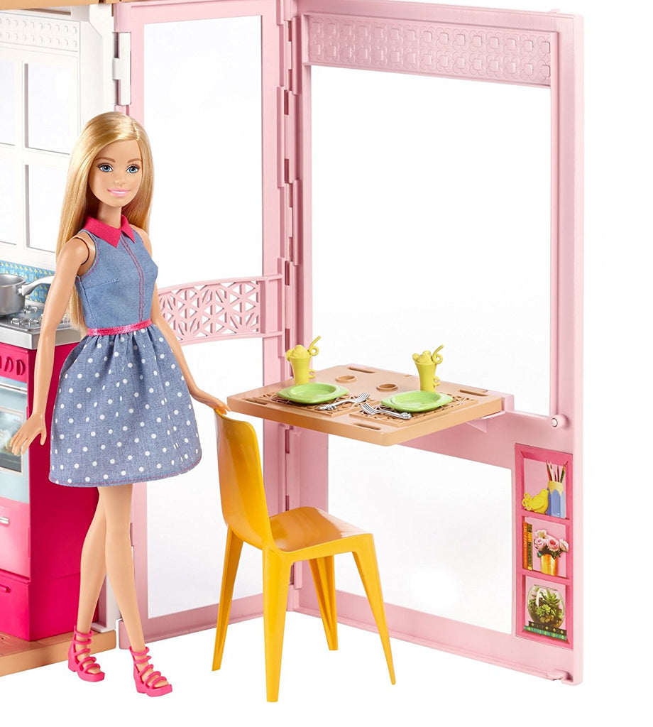 Buy Barbie Doll 2 Story DollHouse at best prices   Dashnjess.com ...