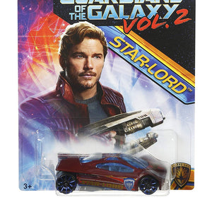 Hot Wheels Marvel Guardians of The Galaxy Vol.2, (Slingshot (Star-Lord))